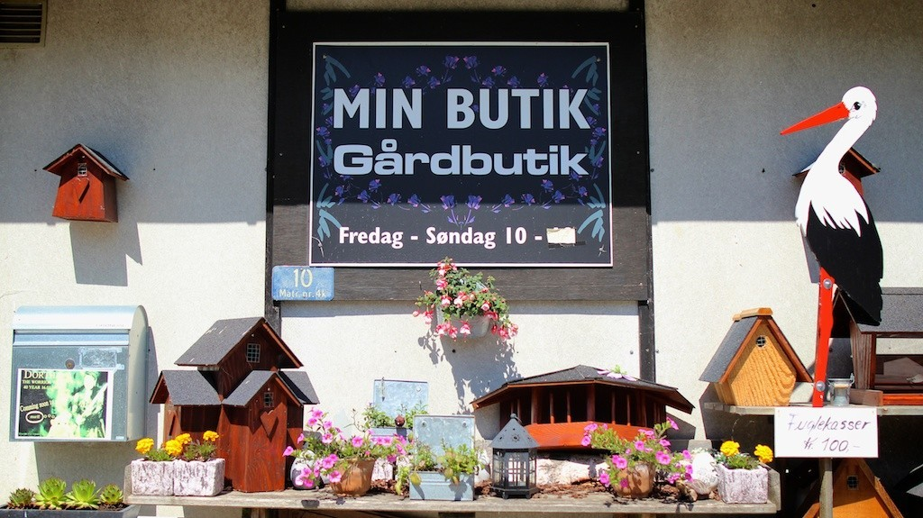 Min butik - gårdsalg fra Bondegaarden